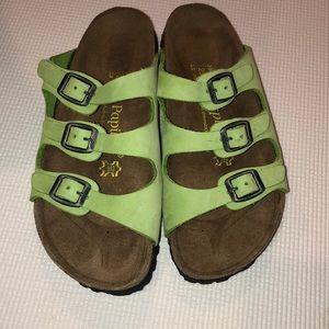 Shoes - 💚Papillio by Birkenstock Florida Sandal•Like New!